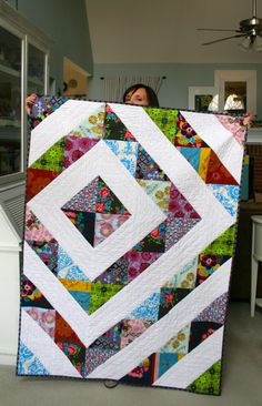 mmmcrafts: look, I made a quilt!