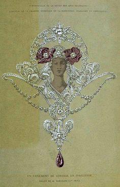 bijoux entre 1860 et 1880