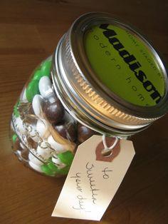 DIY Mason jar St. Patrick's Day gift