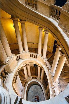 Borromini staircase Palazzo Barberini Roma