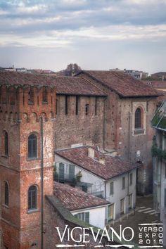 Strada coperta del Castello di Vigevano (PV)
