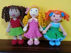 Teia de Carinhos: One Piece Doll - Presentes para a Valentina