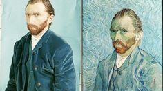 """Van Gogh without """"the static"""". Check out this amazing video showing the process. via Gizmodo"""
