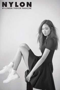 """Girls"""" Generation""""s Yuri greeted SONE through a casual and laid-back pictorial with """"Nylon"""" magazine. She opted for a very Girls"""" Generation""""s Yuri shares her hobbies and goals with a laid-back pictorial for """"Nylon"""" Girls Generations, Snsd Yuri, South Korean Girls, Korean Girl Groups, Korean Women, Korean Beauty, Asian Beauty, Yuri Girls Generation, Korean Girl Band"""