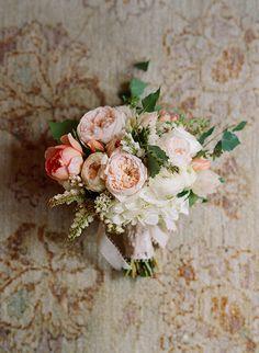 Romantic San Ysidro Wedding by @Elizabeth Messina as seen in Magnolia Rouge Magazine Issue 1, bouquet by Mindy Rice #romanticwedding #classicwedding www.magnoliarougemagazine.com