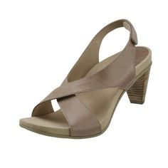 43441d225 Courtney Adjustable Cross Strap With Heel Strap - Sand Womens Comfortable  Shoe