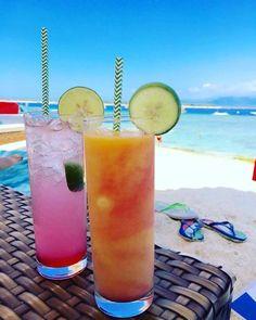 Spiaggia bianca mare blu e cocktails colorati... Cosa chiedere di più? #particonnoi #nonsolocambogia #gilitrawangan #indonesia #sudestasiatico #cambogiaviaggi #travelways http://ift.tt/2bTEolv