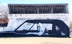 Street art bandits N&B