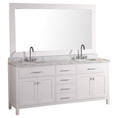 "Found it at Wayfair - Design Element London 72"" Double Bathroom Vanity Set with Mirror Ihttp://www.wayfair.com/Design-Element-London-72-Double-Bathroom-Vanity-Set-I-DEC076B-VED1033.html?refid=SBP.ERkQrGV8O1GjYWEcAs4GNuco9TDA30hQjXSO-jrBAgY"