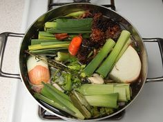 A recipe for a quick, rich vegetable broth perfect for vegetarian or vegan dishes. (Laura says: this is really good. I also threw in a fennel bulb. Made amazing gravy.)