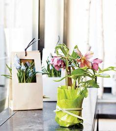 비 내리는 날 예쁜 꽃선물을 .... 꽃포장 모음