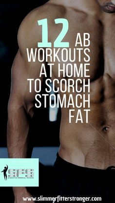 Try these 12 ab workouts to tone and strengthen your stomach #abexercises #abworkouts #slimmerfitterstronger