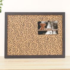 Pinnwand, Retro Muster, 80s, 90s, Memoboard, Notiztafel Memo Boards, Cork Boards, Retro Vintage, Frame, Home Decor, Vintage Patterns, Picture Frame, Decoration Home, Room Decor