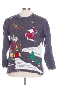 Multicolor Ugly Christmas Pullover 29134