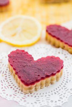 Lighter Lemon Raspberry Bars