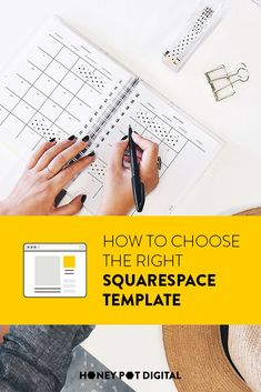 The first step in building your Squarespace website is to choose a template. You need one to start your site, but you're presented with an overwhelming amount of options, with no way to compare but to look at them, one by one. Marketing Articles, Blog Layout, Choose The Right, Templates, Website, Digital, Store, Gallery, Business