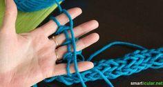 Mit der Hand stricken - das können sogar Kinder - smarticular.net