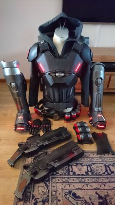 Discover recipes, home ideas, style inspiration and other ideas to try. Ninja Weapons, Sci Fi Weapons, Armor Concept, Weapon Concept Art, Fantasy Weapons, Weapons Guns, Fantasy Armor, Zombie Apocalypse Weapons, Armas Ninja