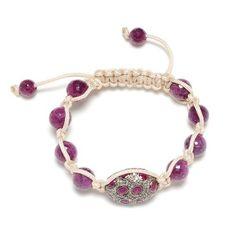 Ruby Gemstone Beaded Macrame Bracelet Sterling Silver 1Day Shipping Fashion Jewelry Socheec. $783.00. Ruby Gemstone Beaded Macrame Bracelet. Fashion Beaded Macrame Bracelet. Sterling Silver Beaded Macrame Bracelet