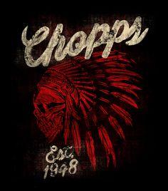 CHOPPS APACHE- CHOPPS GERMANY on Behance by Maleficio Rodriguez