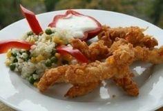 Amerikai csirkemellcsíkok skacoknak | NOSALTY – receptek képekkel