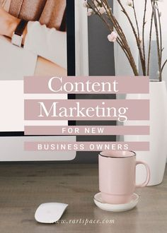 Content Marketing for New Business Owners: What it is and why it's important — R Artspace Small Business Marketing, Marketing Plan, Content Marketing, Affiliate Marketing, Online Marketing, Social Media Marketing, Digital Marketing, Marketing Strategies, Creative Business