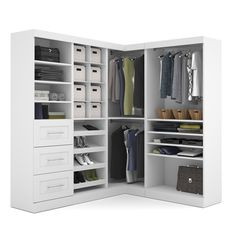 Pur by Bestar Corner Kit - Overstock™ Shopping - Great Deals on Bestar Closet Storage