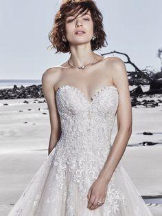 98a7b96c46ef Sottero and Midgley Wedding Dress GLENN 8SN791 Alt1 Princess Wedding Dresses,  Dream Wedding Dresses,