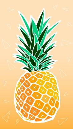 Pineapple wallpaper pineapple wallpaper iphone x . Summer Wallpaper, Trendy Wallpaper, New Wallpaper, Cute Wallpapers, Iphone Wallpapers, Vintage Wallpapers, Pineapple Wallpaper, Pineapple Art, Pineapple Pictures