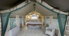 Safari in style - luxury tents | Kapama Karula Lodge