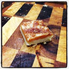 Tan Slice. Mild version of caramel slice that can be made gluten free very easily.