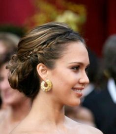 bridesmaid hair- like the braid