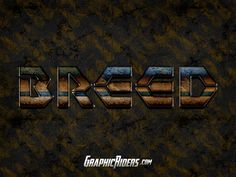 GRAPHICRIDERS | Sci-fi photoshop style – Breed (free psd file)
