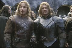 David Wenham as Faramir and Sean Bean as Boromir in Lord of the Rings (Leather Padded and Plate armor examples) The padded armor is the way Knights of The Order dress in Under the Darkened Moon