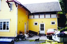 Østfasade 1994 Shed, Villa, Outdoor Structures, Outdoor Decor, House, Home Decor, Lean To Shed, Room Decor, Haus