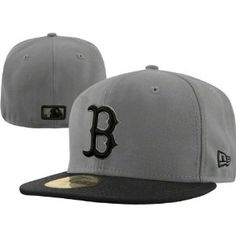 4d0c96d4664 Boston Red Sox 59FIFTY Fashion Grey Black Fitted Hat 59fifty Hats