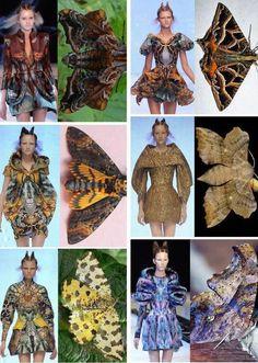 alexander mcqueen butterflies and insects 2018 campaign Fashion Art, High Fashion, Fashion Show, Womens Fashion, Fashion Design, Alexander Mcqueen, Butterfly Fashion, Estilo Grunge, Mode Inspiration