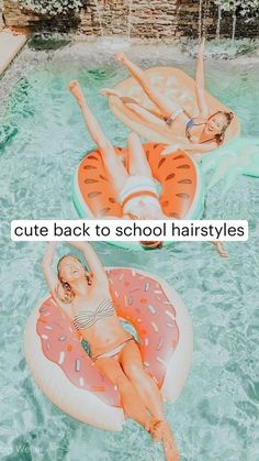 Cute Hairstyles For Teens, Back To School Hairstyles, Teen Hairstyles, Pretty Hairstyles, Athletic Hairstyles, Hair Tips Video, Aesthetic Hair, Hair Hacks, Hair Inspiration
