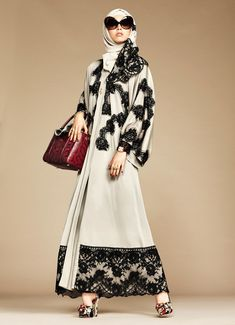 La collection exclusive Abaya et Hijab Dolce & Gabbana - robe-orientale.com