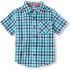 This shirt 'checks' all the boxes for coolness! Brand: Children's Place Retailer: Childrens-Place Similar Item Here  Price : 14.95$