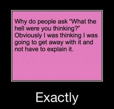 lol, much more true than I don't know.