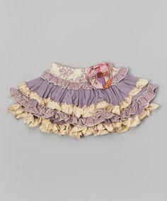 Look what I found on #zulily! Lavender Kenzington Skirt - Infant, Toddler & Girls by Mustard Pie #zulilyfinds