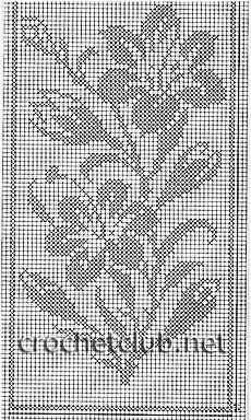 DIY Weaving Tutorial: Pick n pick Stripes Filet Crochet Charts, Crochet Diagram, Crochet Stitches, Crochet Curtains, Crochet Doilies, Crochet Flowers, Cross Stitching, Cross Stitch Embroidery, Cross Stitch Patterns