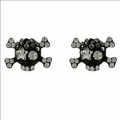 JOA Crossbones W Star Shaped Eye Stud Earring #040143 Arif's Collection. $4.00. Earrings