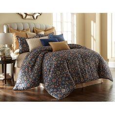 Sherry Kline Theresa 4 Piece Comforter Set Size: Queen