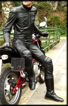 Bike Leathers, Skin Tight, Tall Boots, Leather Pants, Tights, Handsome, Guys, Men, Bikers