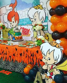 Flintstones Pebbles And Bamm Bamm Theme Party Decoration With Flintstones Party Decorations - Best Home & Party Decoration Ideas