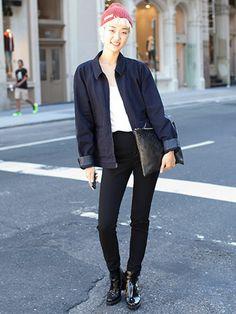 NYFW Model Street Style: Joojoung