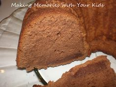 Making Memories ... One Fun Thing After Another: Trisha Yearwood's Chocolate Pound Cake