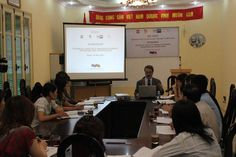 Enrico Perego during a lecture on #marketing held at LEFASO, in #Hanoi and #HoChiMinhCity, #Vietnam